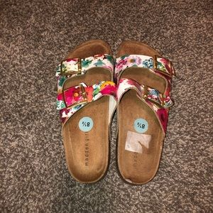 Madden girl leather sandal size 8.5